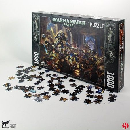 WARHAMMER 40000 GUILLIMAN 1000 PIECES PEZZI JIGSAW PUZZLE