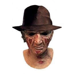 TRICK OR TREAT STUDIOS A NIGHTMARE ON ELM STREET FREDDY DLX MASK HAT MASCHERA