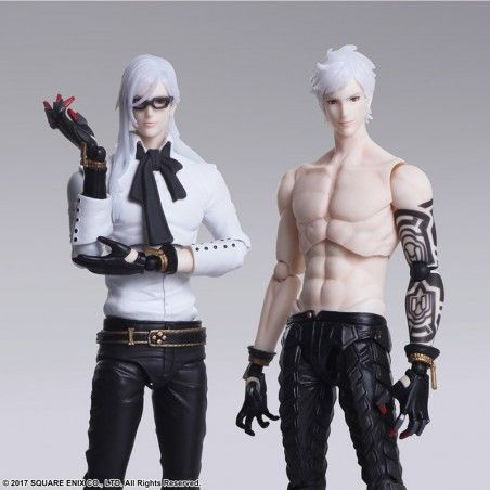 NIER AUTOMATA ADAM AND EVE BRING ARTS ACTION FIGURE
