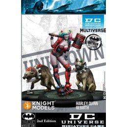 KNIGHT MODELS DC UNIVERSE MINIATURE GAME - HARLEY QUINN REBIRTH MINI RESIN STATUE FIGURE