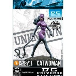 DC UNIVERSE MINIATURE GAME - CATWOMAN MINI RESIN STATUE FIGURE KNIGHT MODELS