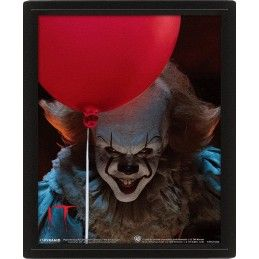 IT PENNYWISE EVIL LENTICULAR 3D POSTER 25X20CM PYRAMID INTERNATIONAL