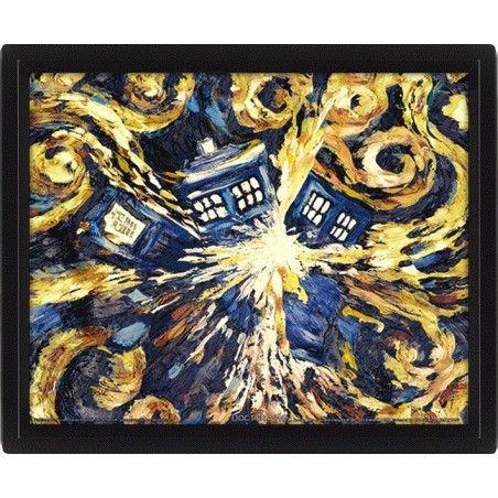 DOCTOR WHO EXPLODING TARDIS LENTICULAR 3D POSTER 25X20CM