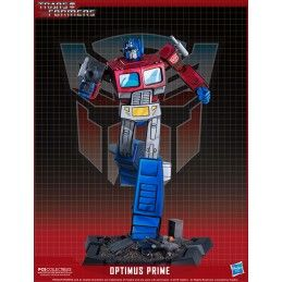 TRANSFORMERS OPTIMUS PRIME CLASSIC 30CM STATUE RESIN FIGURE POP CULTURE SHOCK COLLECTIBLES
