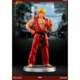 POP CULTURE SHOCK COLLECTIBLES STREET FIGHTER - KEN 1/8 STATUE 25CM STATUE RESIN FIGURE