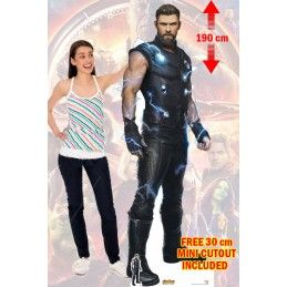 AVENGERS INFINITY WAR - POWER THOR LIFESIZED 190 CM CUTOUT SAGOMATO STAR