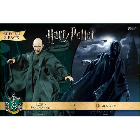 HARRY POTTER - LORD VOLDEMORT AND DEMENTOR 2-PACK 18CM COLLECTIBLE ACTION FIGURE