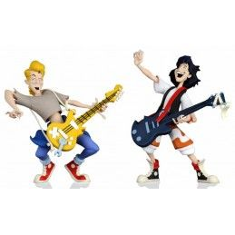 NECA BILL AND TED EXCELLENT ADVENTURE TOONY CLASSIC 2-PACK ACTION FIGURE