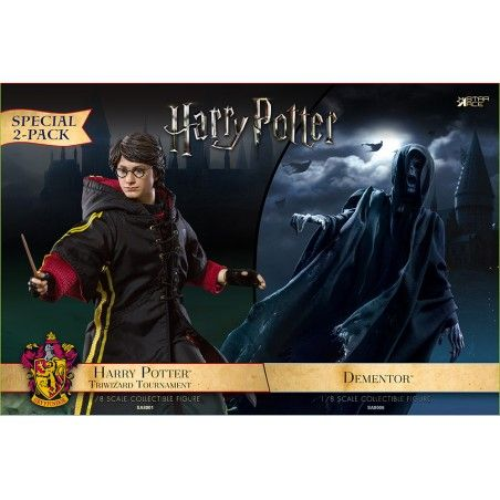 HARRY POTTER - HARRY AND DEMENTOR 2-PACK 18CM COLLECTIBLE ACTION FIGURE