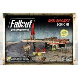 FALLOUT WASTELAND WARFARE - RED ROCKET SCENIC SET ROLEPLAYING GIOCO DI RUOLO MODIPHIUS ENTERTAINMENT