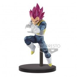 DRAGON BALL SUPER CHOSENSHIRETSUDEN - SUPER SAIYAN GOD VEGETA 14CM STATUE FIGURE BANPRESTO
