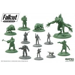 MODIPHIUS ENTERTAINMENT FALLOUT WASTELAND WARFARE TWO PLAYER STARTER SET GIOCO DI RUOLO
