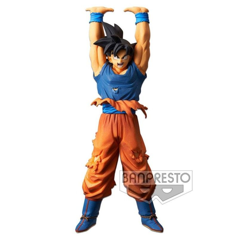 DRAGON BALL SUPER SCULTURES - SON GOKU SPIRIT BALL SPECIAL 25CM STATUE FIGURE BANPRESTO