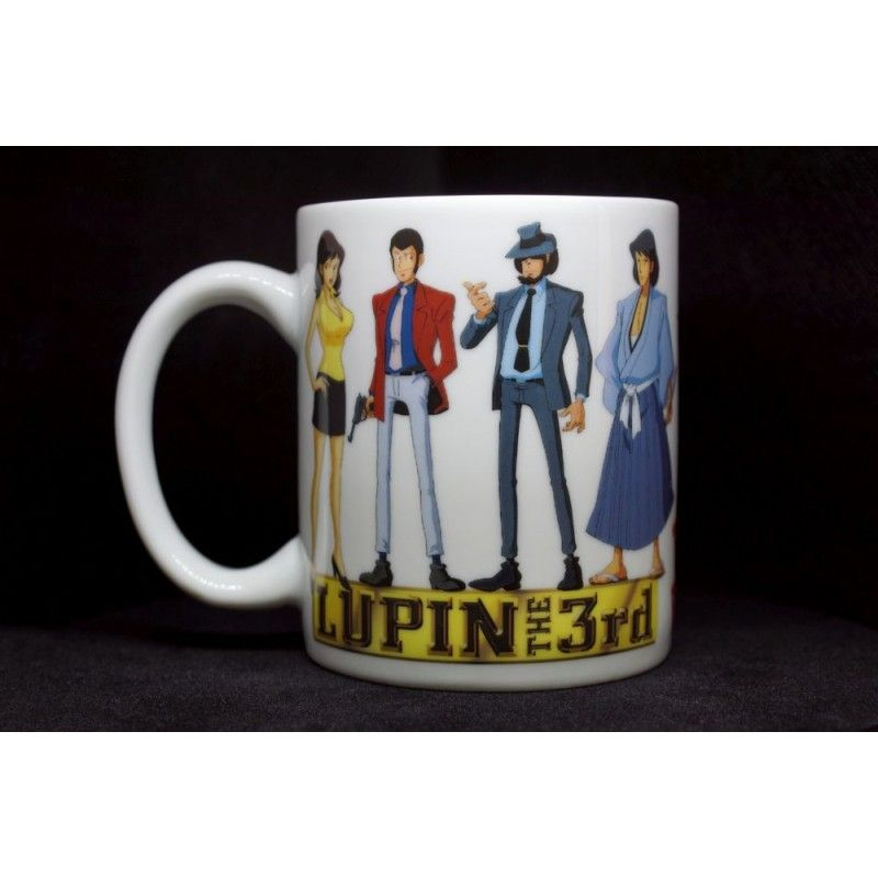 MINE LUPIN III LUPIN THE 3RD MUG TAZZA IN CERAMICA