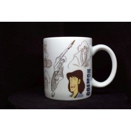 MINE LUPIN III LUPIN THE 3RD GOEMON MUG TAZZA IN CERAMICA
