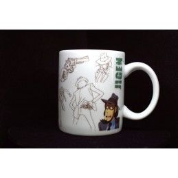MINE LUPIN III LUPIN THE 3RD JIGEN MUG TAZZA IN CERAMICA