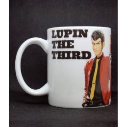 MINE copy of LUPIN III LUPIN THE 3RD JIGEN MUG TAZZA IN CERAMICA
