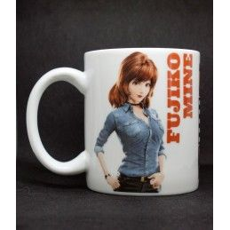 MINE LUPIN III THE FIRST FUJIKO MINE MUG TAZZA IN CERAMICA