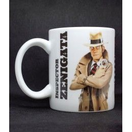 LUPIN III THE FIRST INSPECTOR ZENIGATA MUG TAZZA IN CERAMICA MINE