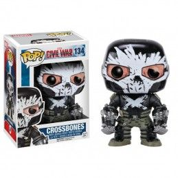 FUNKO POP MARVEL CIVIL WAR - CROSSBONES BOBBLE HEAD KNOCKER FIGURE