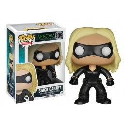 FUNKO POP ARROW - BLACK CANARY BOBBLE HEAD KNOCKER FIGURE
