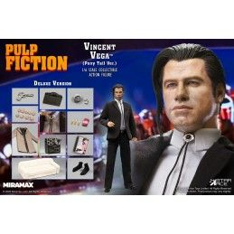 PULP FICTION VINCENT VEGA PONYTAIL DELUXE 1/6 30CM COLLECTIBLE ACTION FIGURE STAR ACE