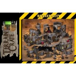 TERRAIN CRATE - RUINED CITY SET MODEL KIT DIORAMA MANTIC