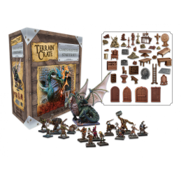 TERRAIN CRATE - GAME MASTER'S STARTER SET VER.2 MINIATURES MANTIC
