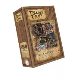 TERRAIN CRATE - DUNGEON DEPTHS SET MINIATURES MANTIC