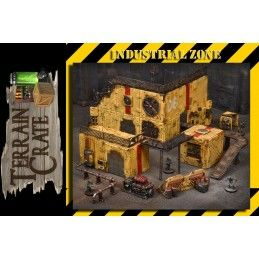 TERRAIN CRATE - INDUSTRIAL ZONE SET DIORAMA MINIATURES MANTIC
