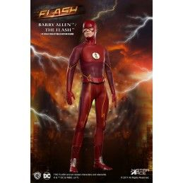 STAR ACE THE FLASH BARRY ALLEN 1/8 23CM COLLECTIBLE ACTION FIGURE