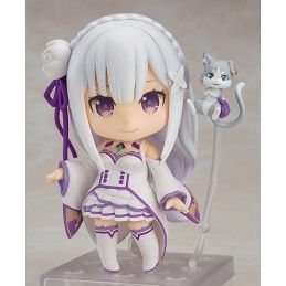 RE ZERO S.L.A.W. EMILIA RE-RUN NENDOROID ACTION FIGURE GOOD SMILE COMPANY