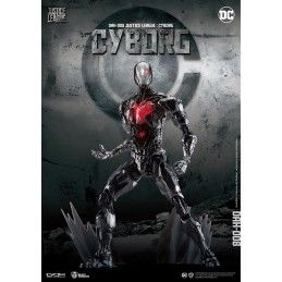 BEAST KINGDOM JUSTICE LEAGUE - CYBORG 20CM ACTION FIGURE
