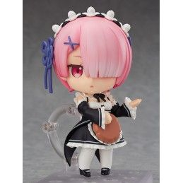 GOOD SMILE COMPANY RE ZERO S.L.A.W. RAM RE-RUN NENDOROID ACTION FIGURE