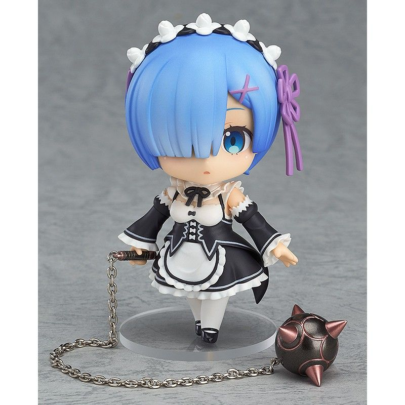 GOOD SMILE COMPANY RE ZERO S.L.A.W. REM 3RD-RUN NENDOROID ACTION FIGURE