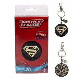 JUSTICE LEAGUE - SUPERMAN METAL KEYCHAIN PORTACHIAVI SD TOYS