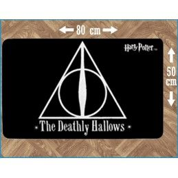 HARRY POTTER THE DEATHLY HALLOWS INDOOR MAT TAPPETO INTERNO 80X50CM LEGEND