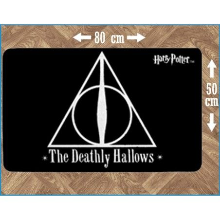 HARRY POTTER THE DEATHLY HALLOWS INDOOR MAT TAPPETO INTERNO 80X50CM