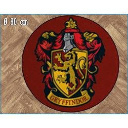 LEGEND HARRY POTTER GRYFFINDOR ROUND INDOOR MAT TAPPETO INTERNO 80CM