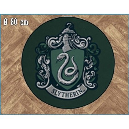 HARRY POTTER SLYTHERIN ROUND INDOOR MAT TAPPETO INTERNO 80CM