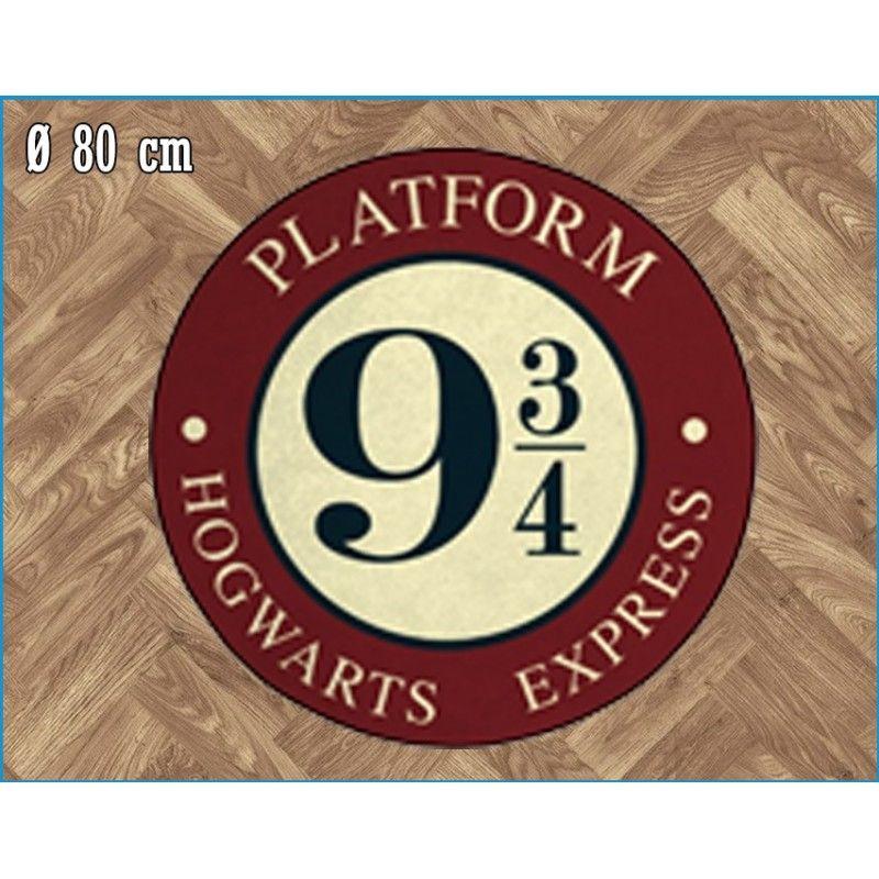 LEGEND HARRY POTTER PLATFORM 9 3/4 ROUND INDOOR MAT TAPPETO INTERNO 80CM