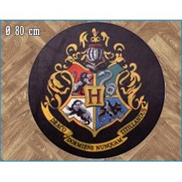 LEGEND HARRY POTTER HOGWARTS ROUND INDOOR MAT TAPPETO INTERNO 80CM