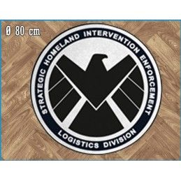 LEGEND MARVEL S.H.I.E.L.D. ROUND INDOOR MAT TAPPETO INTERNO 80CM