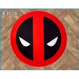 MARVEL DEADPOOL ROUND INDOOR MAT TAPPETO INTERNO 80CM LEGEND