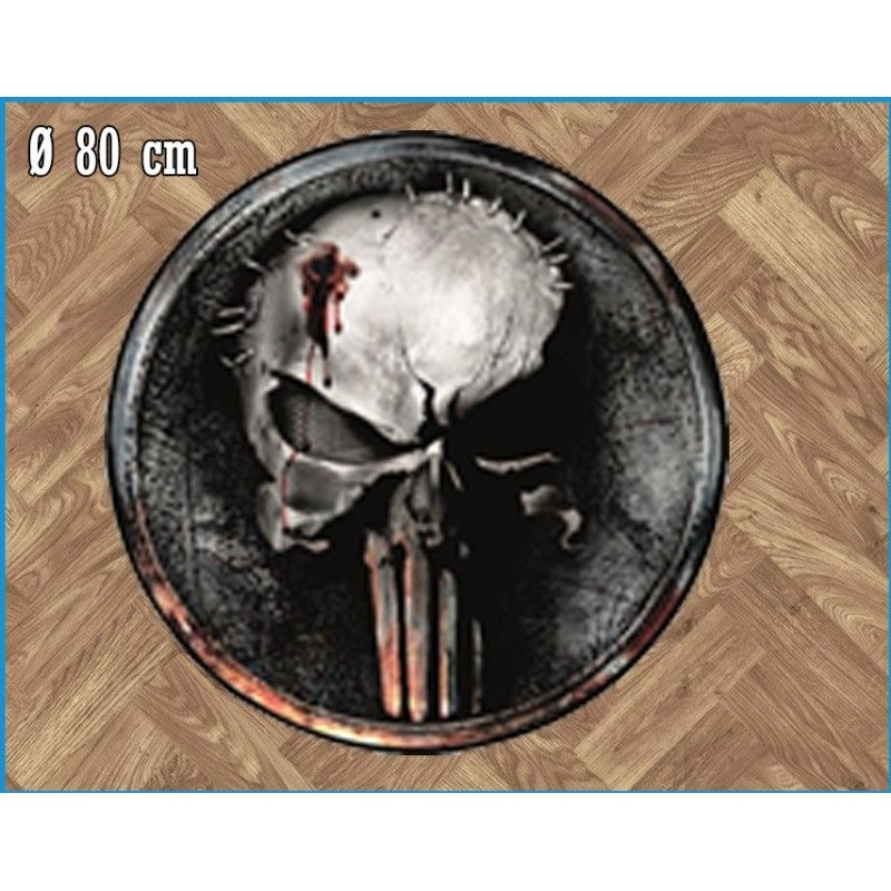 MARVEL PUNISHER ROUND INDOOR MAT TAPPETO INTERNO 80CM LEGEND