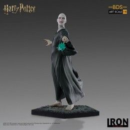 HARRY POTTER VOLDEMORT BDS ART SCALE 1/10 16CM STATUE FIGURE IRON STUDIOS