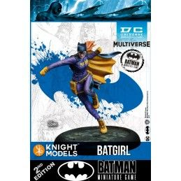 BATMAN MINIATURE GAME - BATGIRL MINI RESIN STATUE FIGURE KNIGHT MODELS