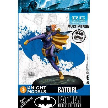 BATMAN MINIATURE GAME - BATGIRL MINI RESIN STATUE FIGURE