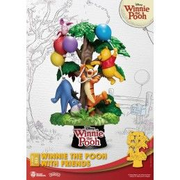 BEAST KINGDOM D-STAGE WINNIE THE POOH WITH FRIENDS 053 STATUE FIGURE DIORAMA