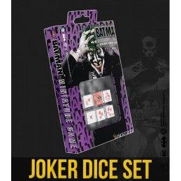 BATMAN MINIATURE GAME - SET DADI JOKER DICE SET KNIGHT MODELS